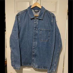 Zara workers denim jacket.
